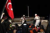 36 sığınmacı botları batmak üzereyken kurtarıldı
