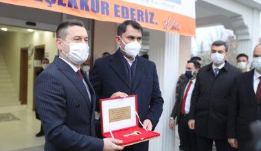 Bakan Kurum, Edirne'nin Havsa ilçesinde incelemelerde bulundu