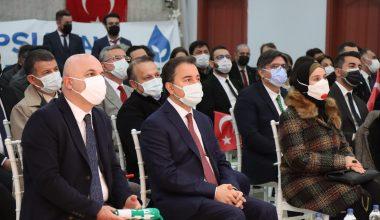 DEVA Partisi Genel Başkanı Babacan, Kırklareli'de parti binasını açtı
