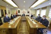 Edirne heyetinden Kültür ve Turizm Bakanı Ersoy'a ziyaret