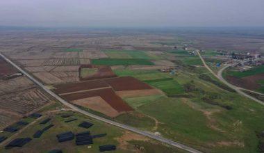 Edirne Ovası'nda 78 bin dekar alan modern sulamaya kavuşacak