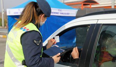 Edirne'de son iki ayda 35 bini aşkın araç kontrol edildi