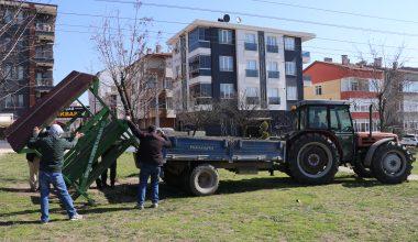 Edirne'de park ve mesire alanlarındaki çok sayıdaki bank kaldırıldı