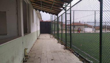 Tahrip edilen spor tesisinin onarılmasını istiyorlar