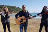 Haluk Levent'ten FSRU limanına müzikle tepki!