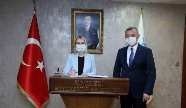 Hırvatistan'ın Başkonsolosu Zerec, temaslarda bulundu
