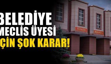 CHP'li Belediye Meclis üyesi, görevinden uzaklaştırıldı!
