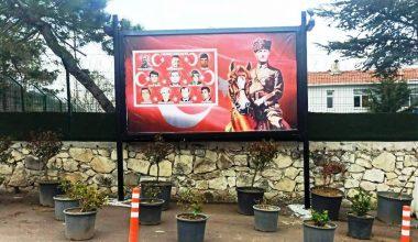 İlçe Jandarma Komutanlığı, Şehitlerini billboardla andı