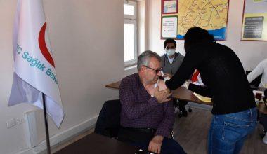 """Helvacıoğlu: """"Sırası gelen vatandaşlarımız aşılarını yaptırsın"""""""