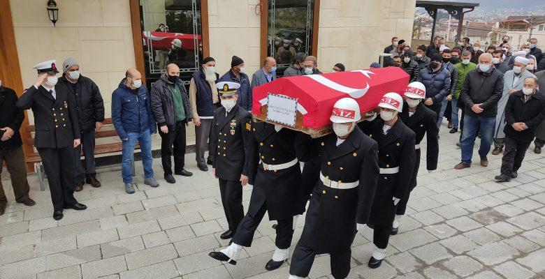 Kıbrıs Gazisi Yılmaz askeri törenle uğurlandı