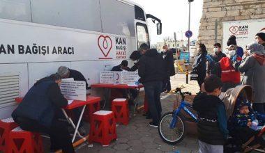 Kızılaya 158 ünite kan bağışı