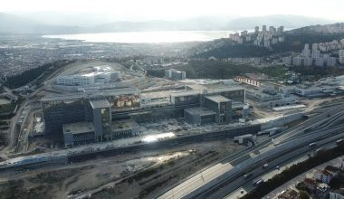 Şehir Hastanesi inşaatının yüzde 74'ü tamamlandı