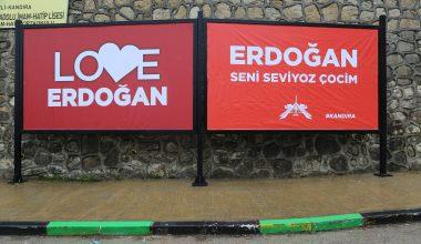 Yöresel şiveyle Erdoğan'a destek mesajı