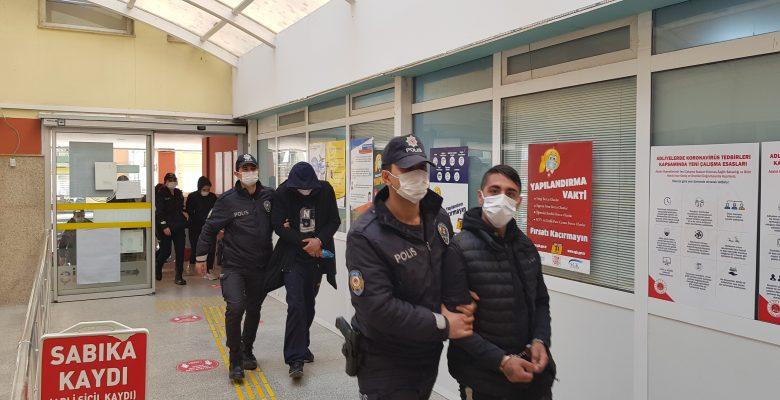Kocaeli'de uyuşturucu operasyonunda 8 şüpheli yakalandı