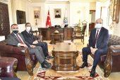 Özel Harekat Başkanı Türker, Vali Canalp'i ziyaret etti