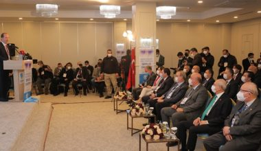 Recep Gürkan çalıştayda konuşma yaptı