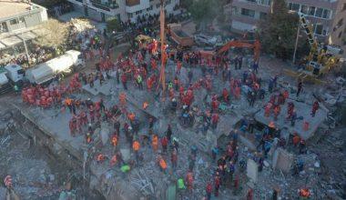 İzmir depreminde yıkılan Apartmanın fenni mesulü tutuklandı