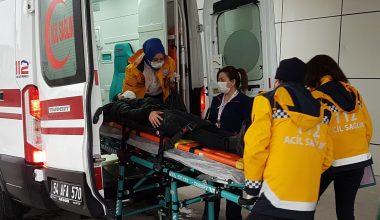 ATV ile kaza yapan 4 kişi yaralandı