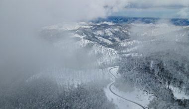 Karabük ve Zonguldak'ta kar yağışı