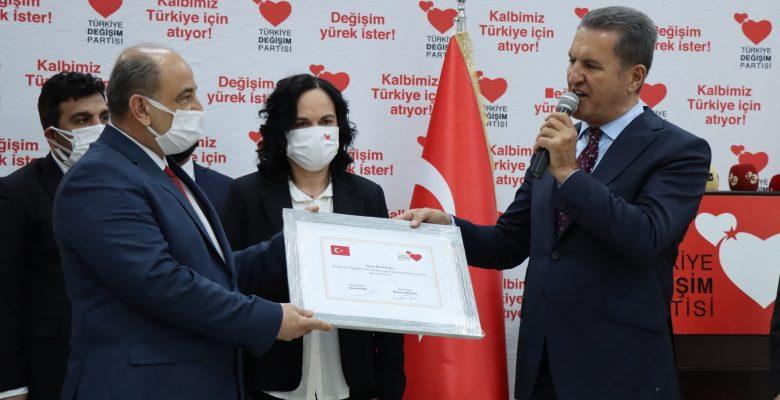 TDP Genel Başkanı Sarıgül, Kırklareli'ndeydi