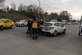 Çerkezköy'de kaza! 3 yaralı