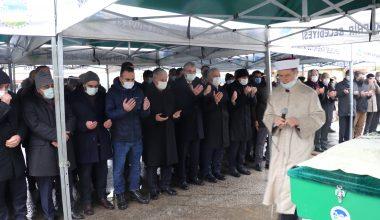 AK Parti Genel Başkanvekili Binali Yıldırım, cenaze törenine katıldı