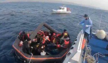 Geri itilen 27 sığınmacı kurtarıldı