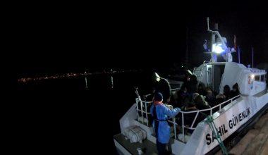 Türk kara sularına geri itilen 34 sığınmacı kurtarıldı
