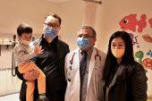 3 yaşındaki beyin tümörü hastası Nurgalieva, Türkiye'de sağlığına kavuştu