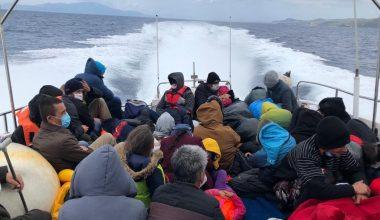 Yunanistan'ın geri ittiği 51 sığınmacı kurtarıldı