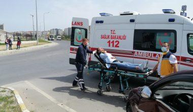 Çerkezköy'de trafik kazası
