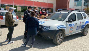Edirne'de araçlarıyla alışverişe gelenlere 3.150 lira ceza!