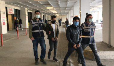 Cezaevinden izinli çıkan 2 hükümlü, dolandırıcılık suçundan tutuklandı