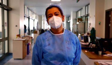 """""""En çok, hastalarımızı solunum cihazına bağlarken üzülüyorum"""""""