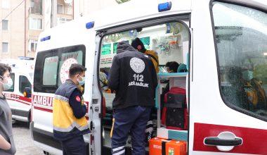 Dumandan etkilenen 2 kardeş hastaneye kaldırıldı