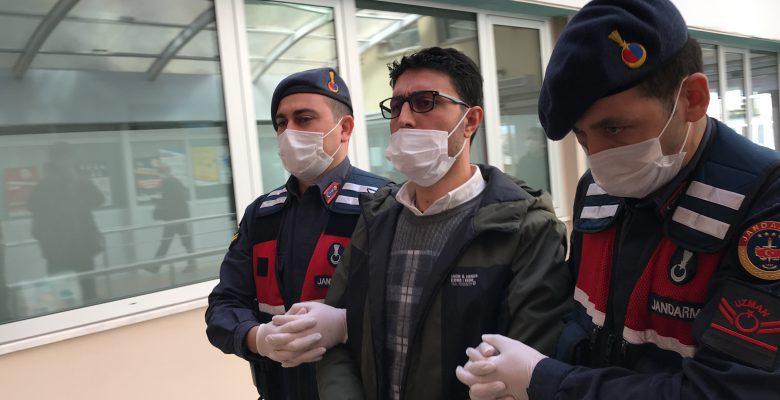 Kocaeli'de terör örgütü PKK/KCK'ya yönelik operasyonda gözaltına alınan eski HDP ilçe başkanı adliyede