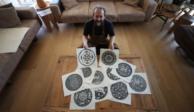 Selçuklu motifleri buğday sapından üretilen el yapımı kağıtlarla geleceğe taşınıyor