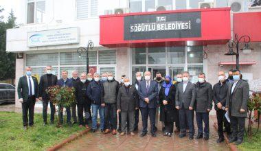 Başkan Özten siyasi parti temsilcilerinin sorularını yanıtladı