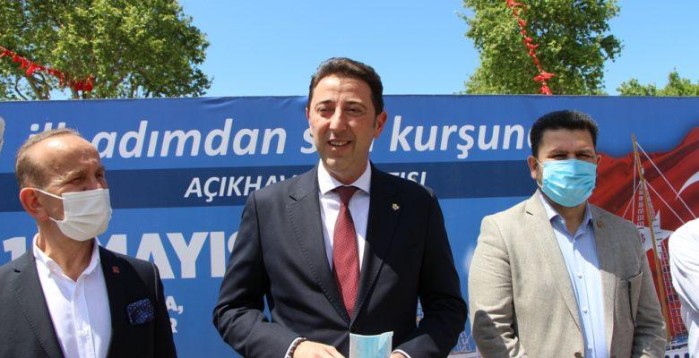 """Bandırma'da """"İlk Adımdan Son Kurşuna"""" başlıklı sergi açıldı"""