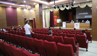 Edirne'de Kovid-19 değerlendirme toplantısı yapıldı