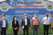 KEFEK Başkanı Aksal ve Başkan Helvacıoğlu Sokak Hayvanları Barınağı'nı ziyaret etti
