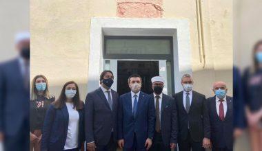Türk Dışişleri Bakan Yardımcısı Kıran, İskeçe Türk Birliği'ni ziyaret etti
