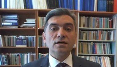 """""""Soykırım iddiaları çerçevesinde Türk Ermeni ilişkileri"""" çevrim içi konferansta ele alındı"""