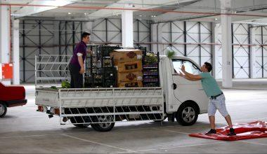 Trakya'da yarın açılacak halk pazarlarında esnaf hazırlığa başladı