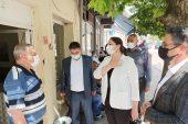 Başkan İba, Lalapaşa'da ziyaretlerde bulundu