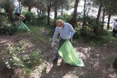 Aydos Ormanı'nda temizlik çalışması başlatıldı