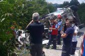 Zincirleme kazada 3 kişi öldü, 3 kişi yaralandı