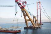 Köprünün çelik yapılarını 2 bin işçi üretiyor