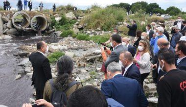 CHP Genel Başkan Yardımcısı Öztunç, Çorlu Deresini inceledi