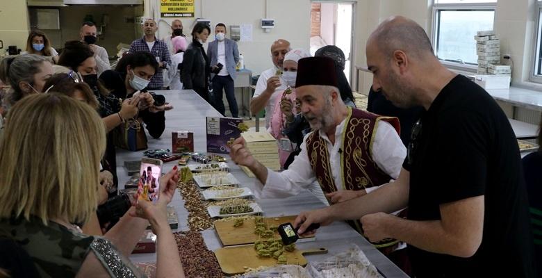 """""""Rotahane Projesi"""" ile Edirne'ye gelen sanatçılar tatlılara hayran kaldı"""